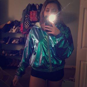 Metallic Jacket!
